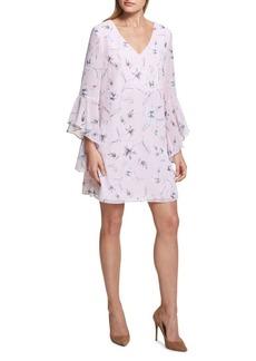Kensie Dresses Floral-Print Shift Dress