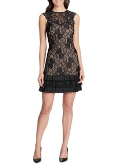 Kensie Lace Sheath Dress