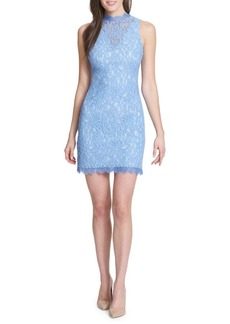 Kensie Dresses Sleeveless Lace Sheath Dress