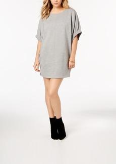 kensie Elbow-Sleeve Sweatshirt Dress