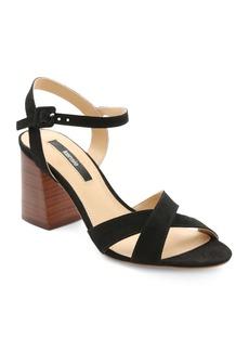 Kensie Exalia Block Heel Crisscross Sandals