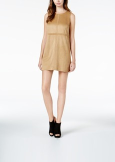 kensie Faux-Suede Shift Dress