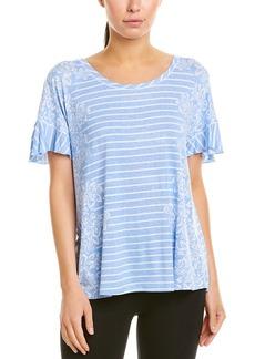 Kensie Stripe Pajama Top