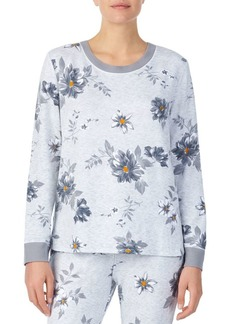 Kensie Flower Hour Pajama Top