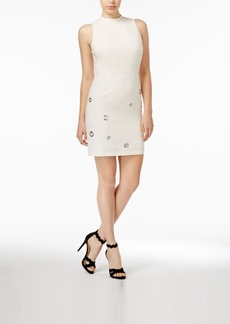 kensie Grommeted Sheath Dress