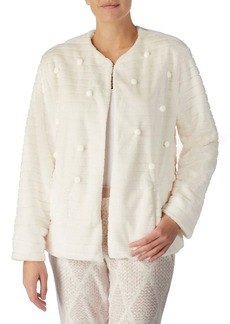 Kensie Ivy Fleece Faux Fur Jacket
