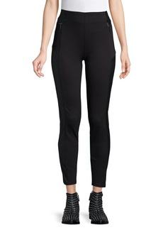 Kensie jeans Contrast-Insert Ponte Leggings