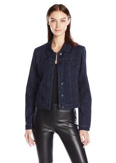 kensie Denim Jacket Jeans Women's Forever Denim Jacket Rinse M