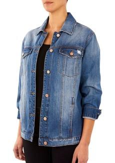 Kensie jeans Distressed Denim Jacket