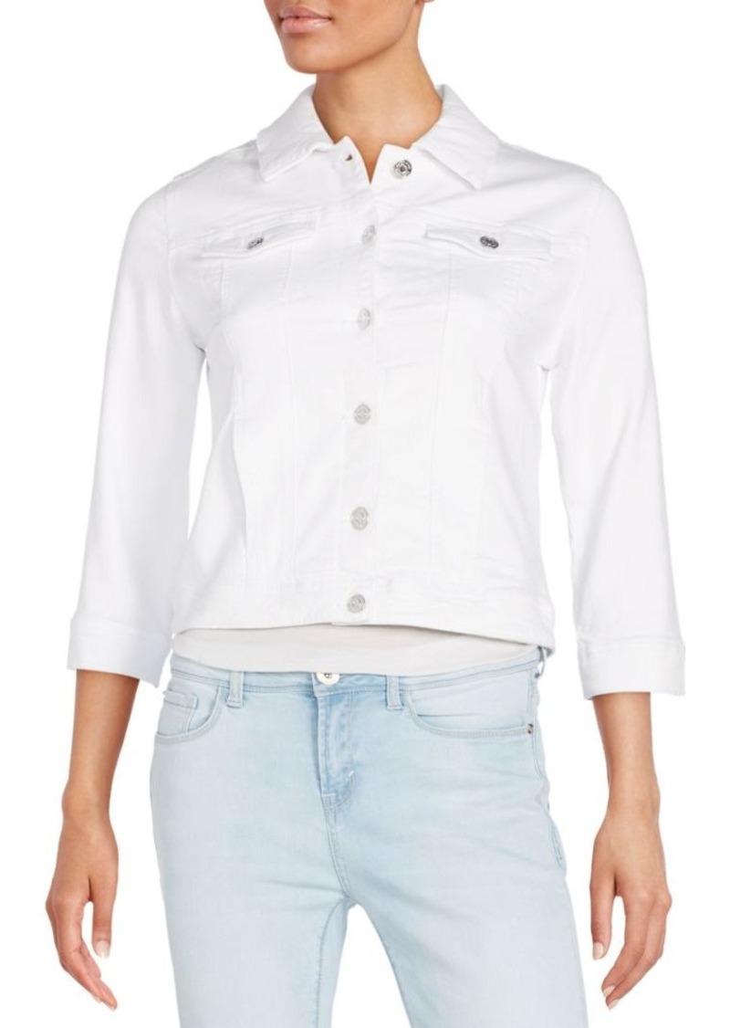 Kensie jeans Three-Quarter Sleeve Denim Jacket