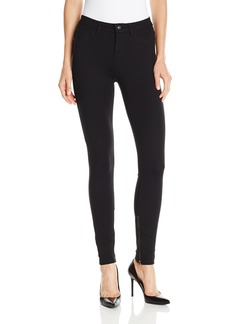 kensie Jeans Women's Ponte Ankle Biter with Zipper Hem