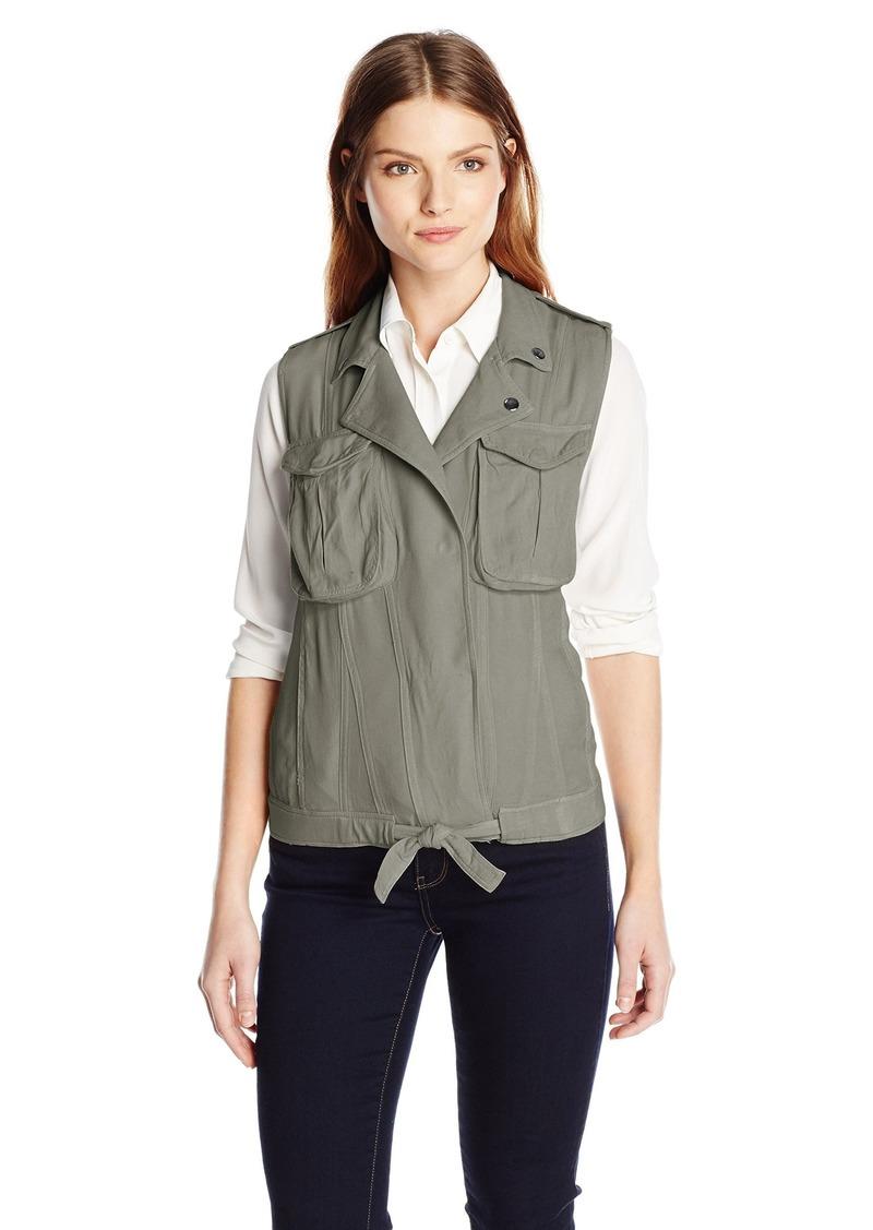 kensie Jeans Women's Utility Cargo Vest