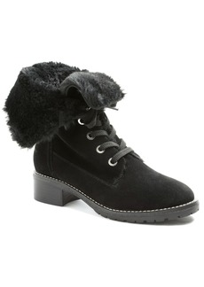 Kensie Kylin Combat Booties Women's Shoes