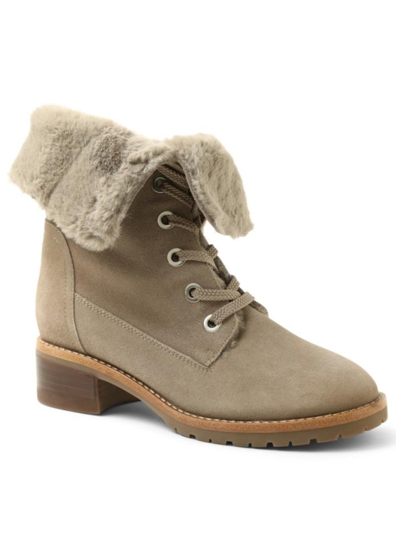 Kensie Kylin Combat Booties Women's Shoes