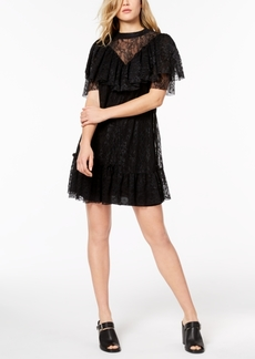 kensie Lace Mini Dress