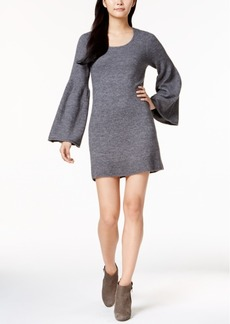 Kensie Lantern-Sleeve Sweater Dress