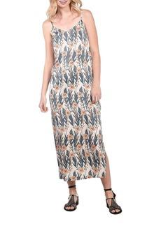 Kensie Leafy Vines Slip Dress