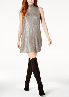 kensie Metallic Shift Dress
