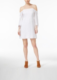 kensie Off-The-Shoulder Shift Dress