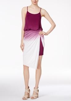 kensie Ombre Twist-Detail Dress