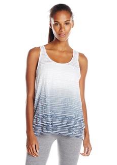 kensie Performance Women's Dip-Dyed Drape-Back Layering Tank