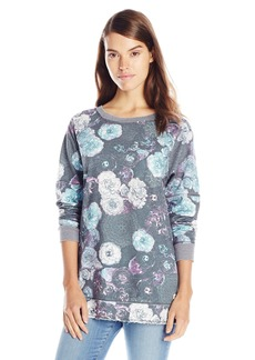 Kensie Performance Women's Distressed Fleece Tunic