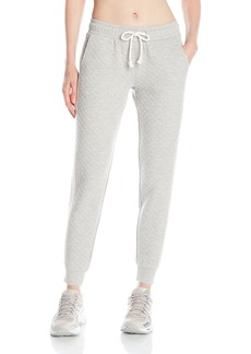 kensie Performance Women's Quilted Front Tuxedo Sweatpant