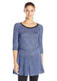 kensie Performance Women's Slub-Knit T-Shirt
