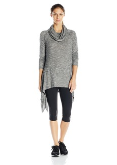 kensie Performance Women's Slub-Knit Tunic