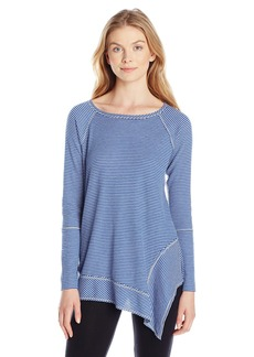 kensie Performance Women's Thermal Stripe Tunic