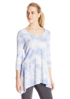 kensie Performance Women's Tie Dye Tunic