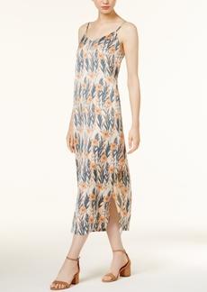 kensie Printed Slip Dress
