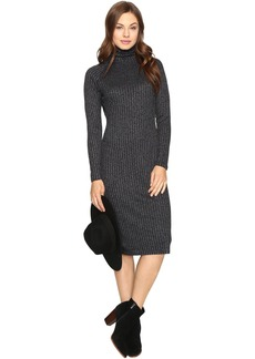 Kensie Rayon Rib Midi Dress KSDK7490