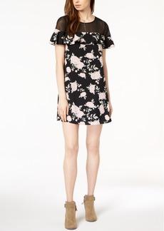 Kensie Ruffled Illusion Dress