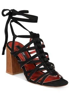 kensie Sadira Block-Heel Sandals Women's Shoes
