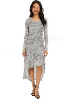 Scribbled Lines Dress KSNK7768