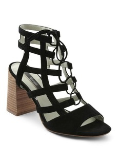 Kensie Shawna Lace-Up Caged Sandals