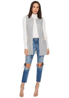Kensie Soft Tweed Vest KS1K2260