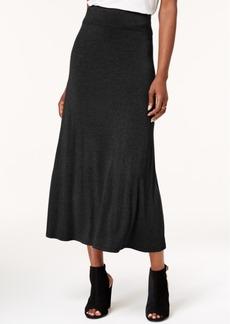 kensie Solid Knit Maxi Skirt