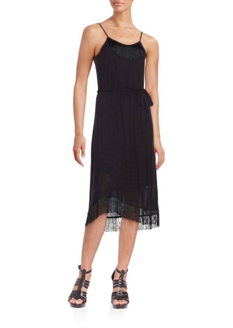 Kensie Solid Midi Dress
