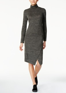 kensie Space-Dye Envelope-Hem Dress