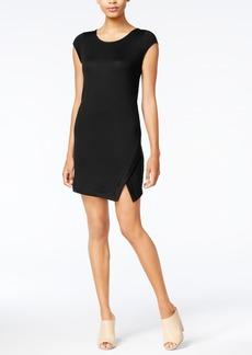 kensie Split-Front Shift Dress