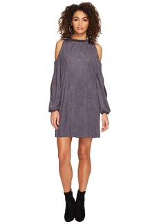 Kensie Stretch Suede Dress KSDK8108