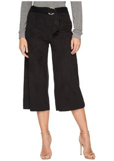 Kensie Stretch Suede Maxi Pants KS2U1046