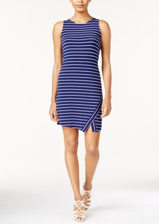 kensie Striped Layered-Hem Tank Dress