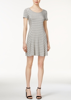 kensie Striped T-Shirt Dress