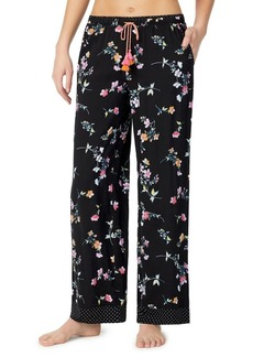 Kensie The Getaway Floral Drawstring Pants