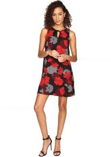 kensie Tossed Flowers Dress KSNK7267