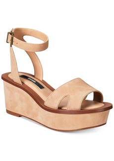 kensie Tray Wedge Sandals Women's Shoes