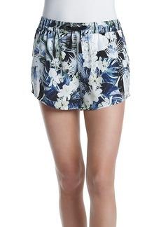 Kensie® Tropical Blues Soft Shorts